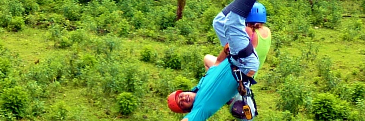 Zipline Canopy Tour and Tarzan Swing in the Rain Forest