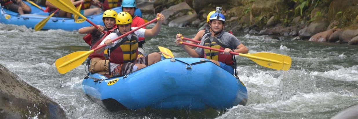 Costa Rica White Water Rafting Adventure