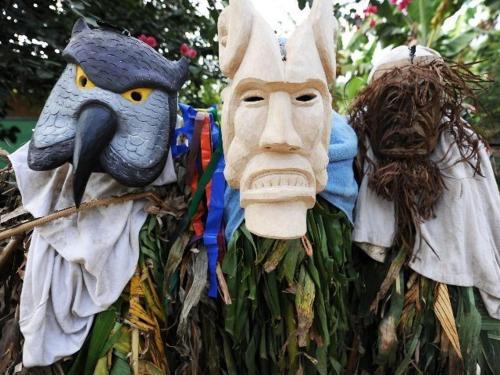 Costa Rica Boruca Indians