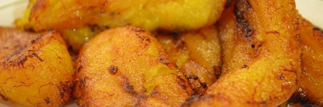 Fried Ripe Plantains Recipe: Plantos Maduros Fritos