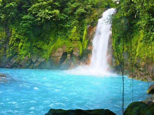 Rio Celeste vs. Rio Azul vs. Rio Penjamo, Blue Rivers In Costa Rica