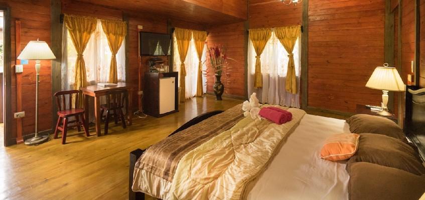King Bedroom Blue River Resort