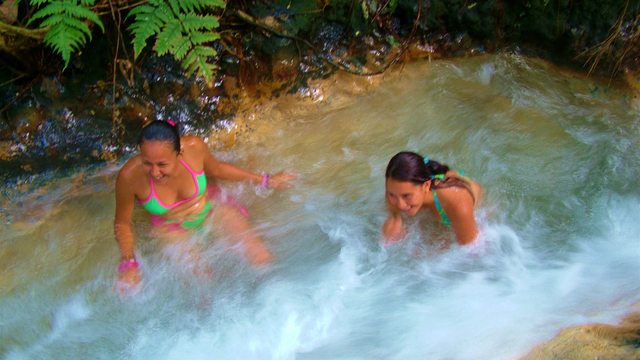 Grand Waterfalls & Blue River Adventure with Hot Springs