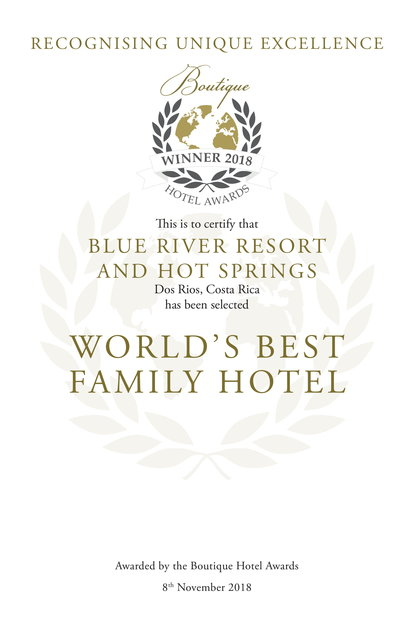 World's Best Family Hotel Award