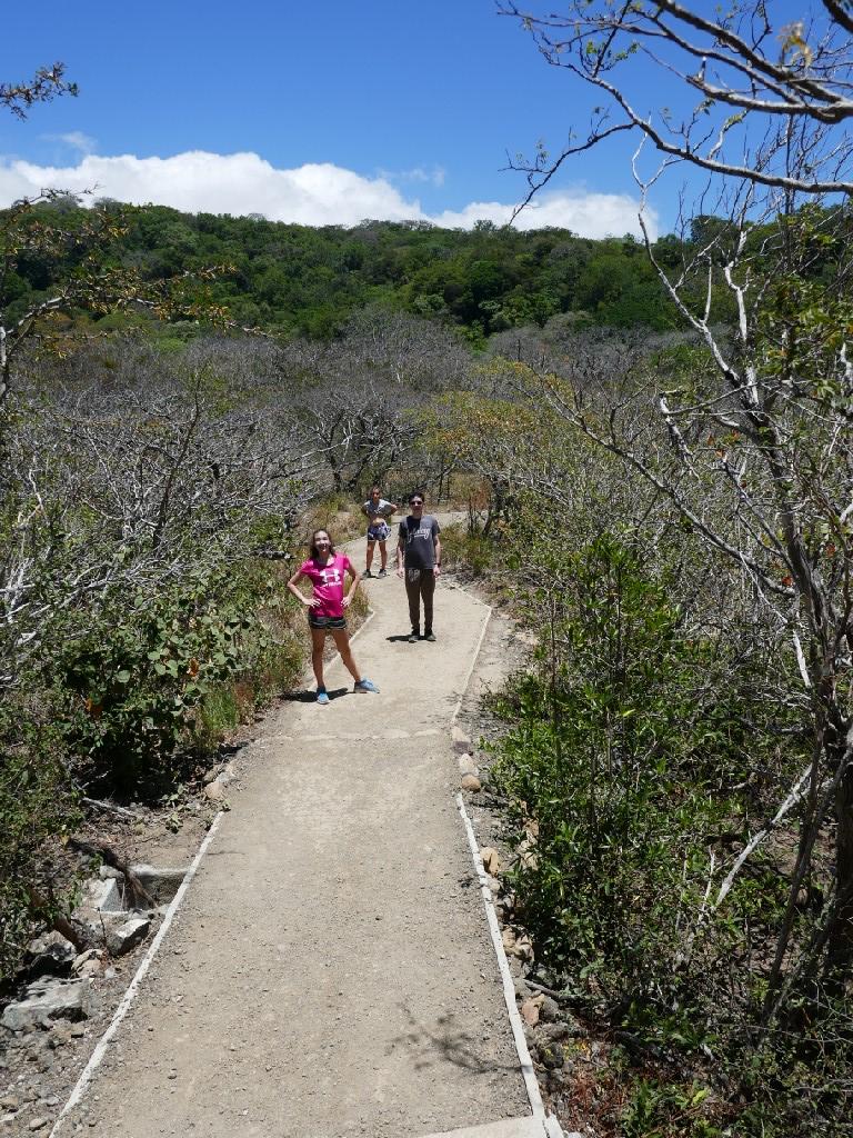 Rincon de la Vieja las pailas trail
