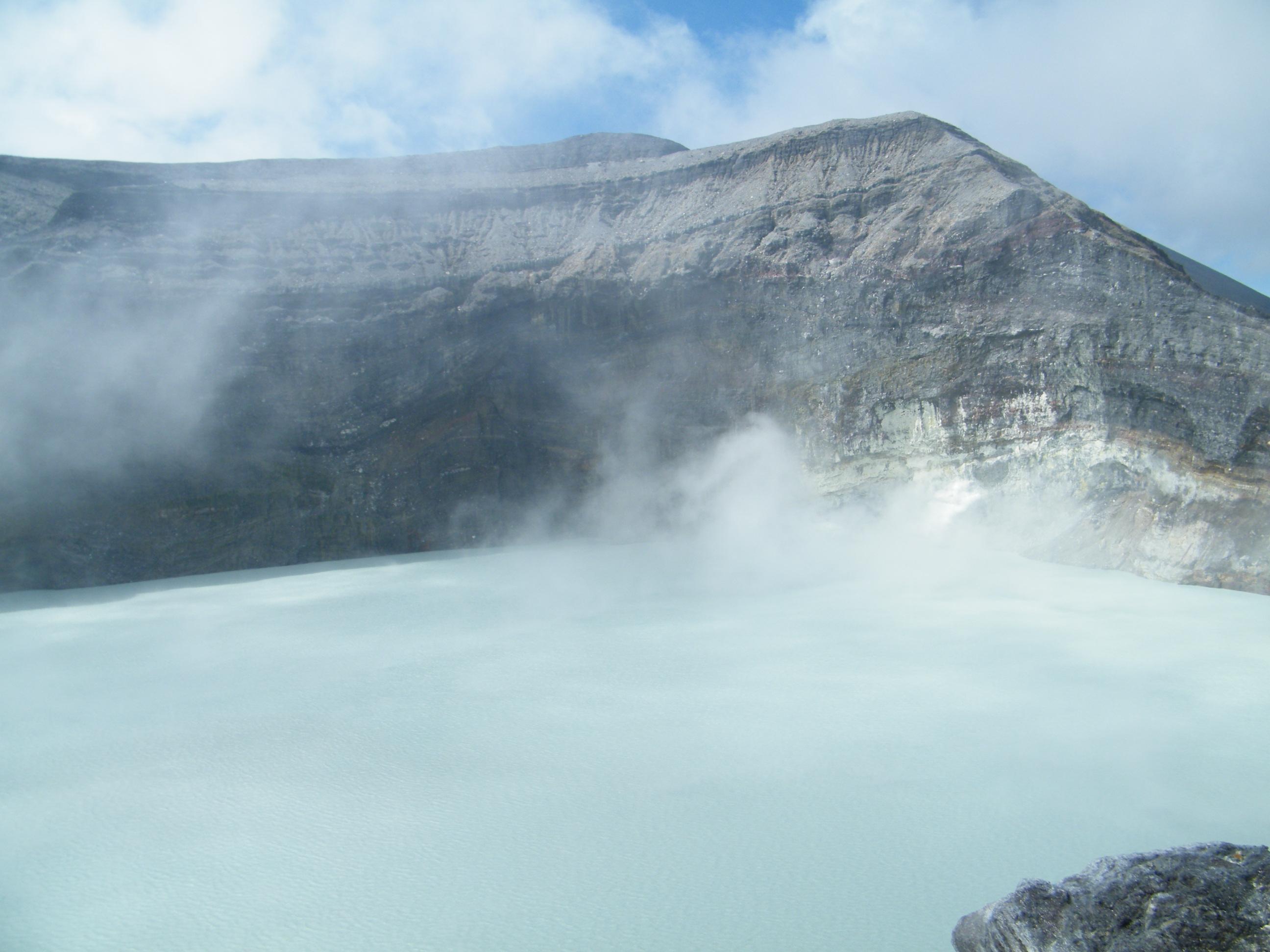 Rincon de la Vieja Volcano lake